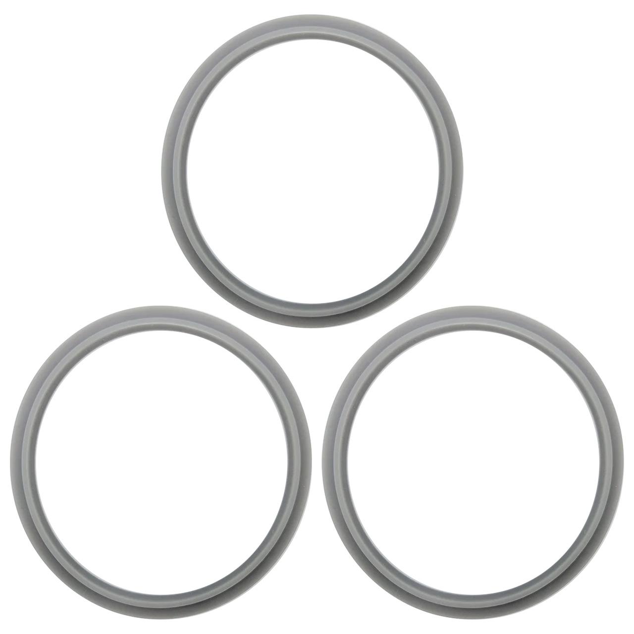 3 Anéis de Vedação para Liquidificador NutriBullet 600W 900W – Pronta Entrega
