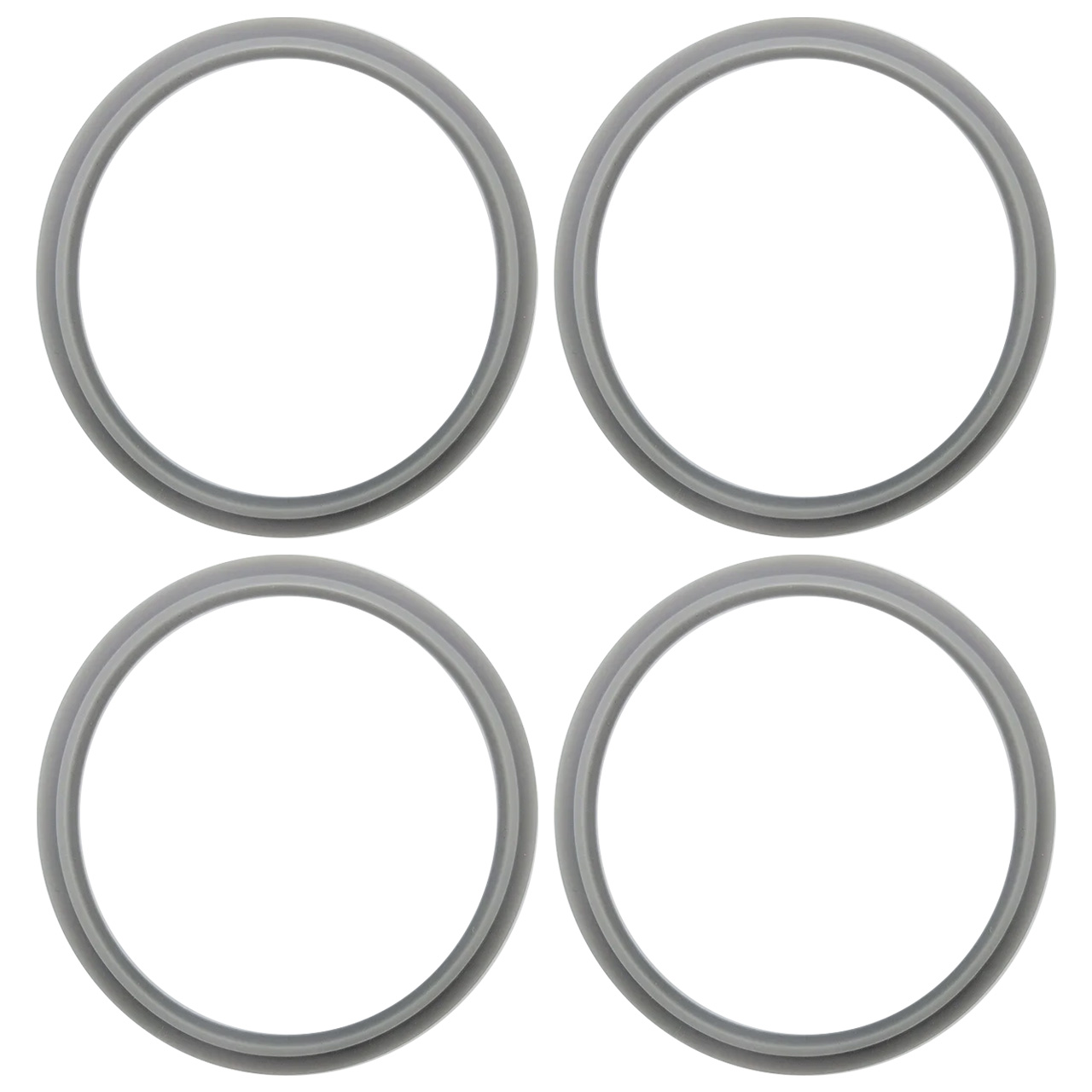 4 Anéis de Vedação para Liquidificador NutriBullet 600W 900W - Pronta Entrega