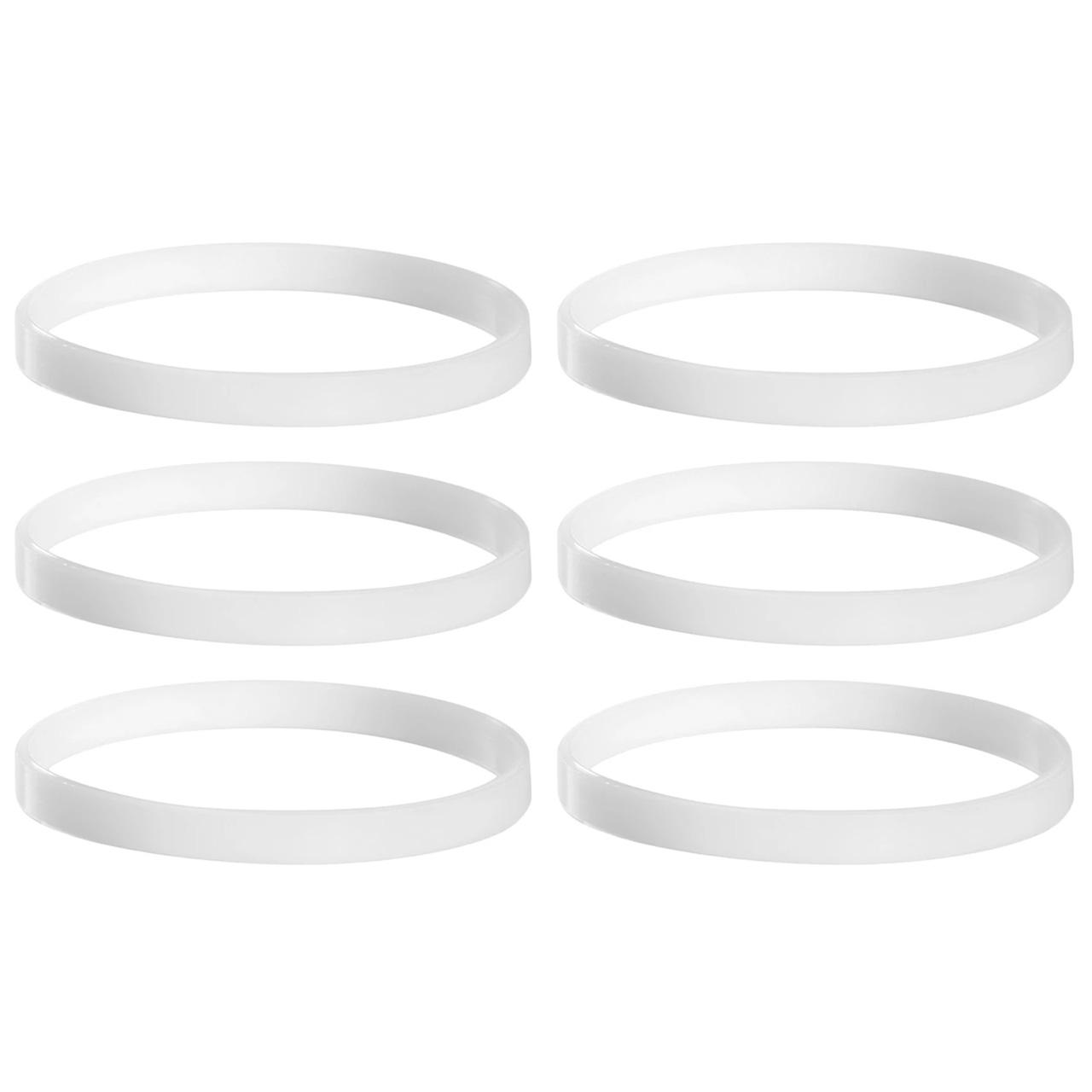 6 Anéis de Vedação para Liquidificador Nutri Ninja BL480BR BL480D