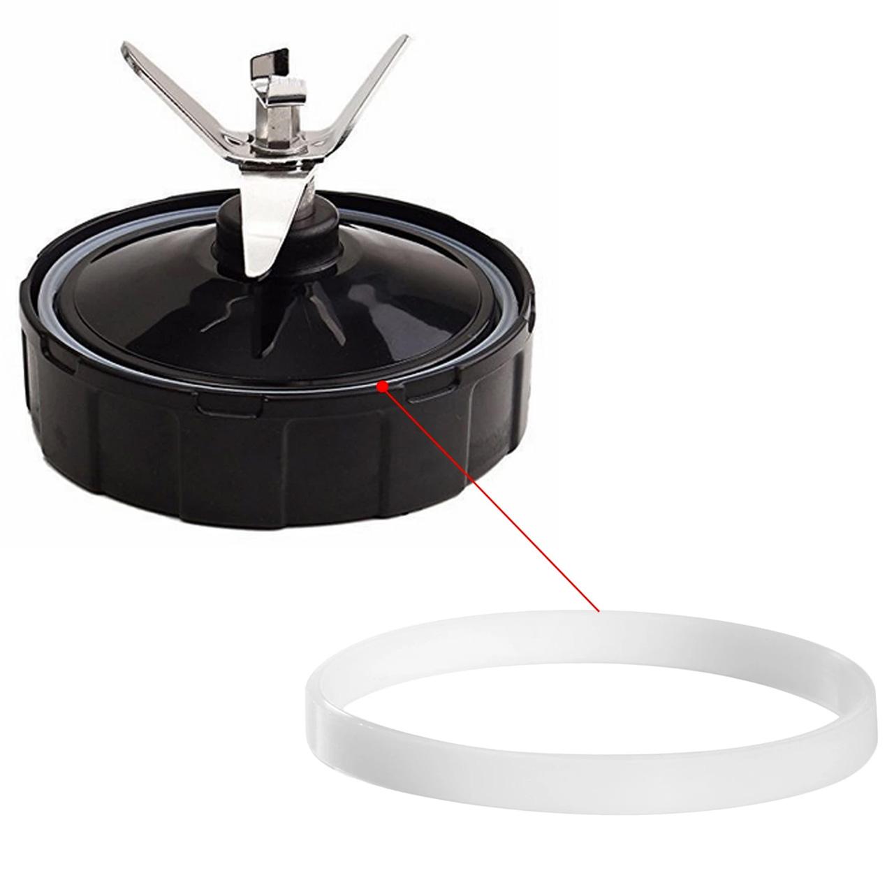 6 Anéis de Vedação para Liquidificador Nutri Ninja 900W e 1000W - Pronta Entrega