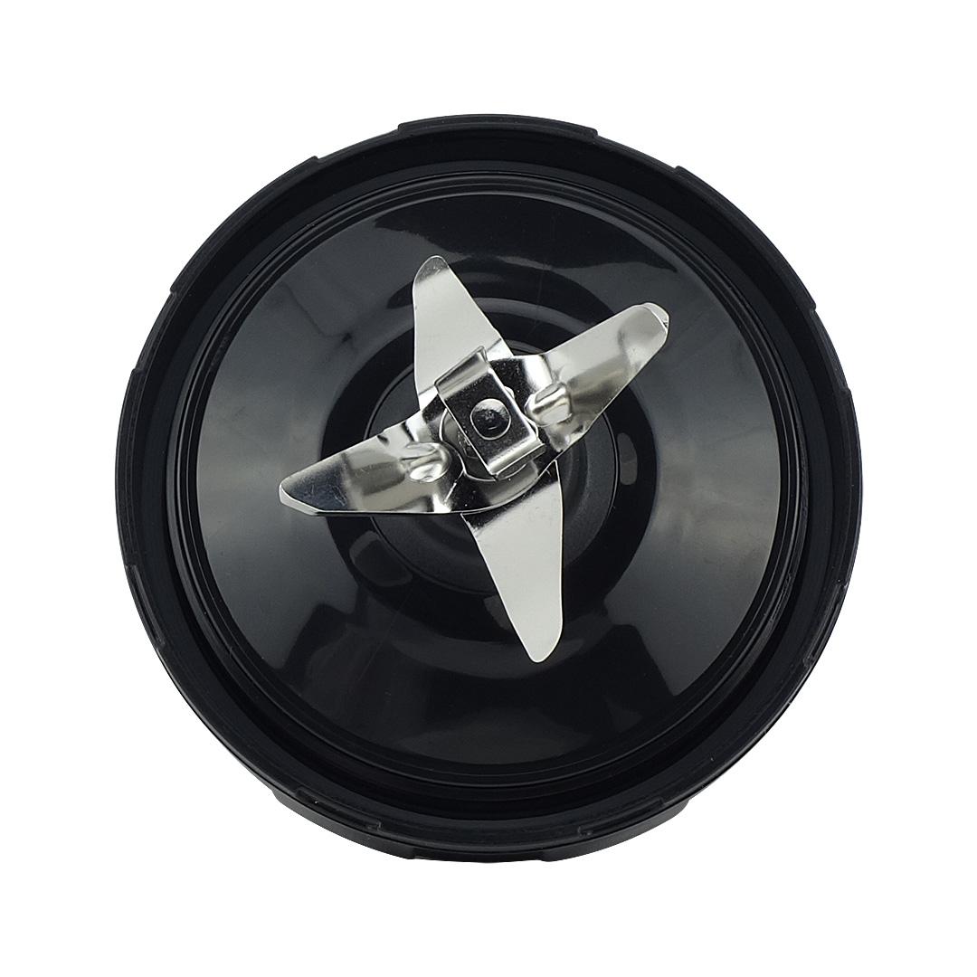 Lâmina de Aço Extratora 6 Pinos (Invertido) com Junta de Silicone para Nutri Ninja BL480D 900W e 1000W - Pronta Entrega