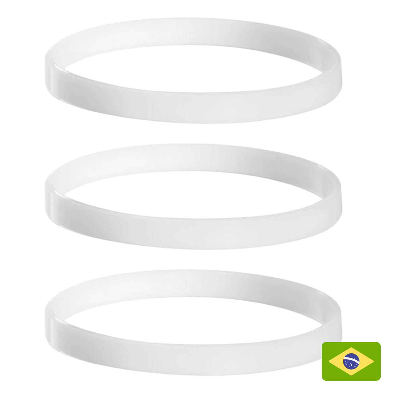 3 Anéis de Vedação para Liquidificador Nutri Ninja BL480BR BL480D – Pronta Entrega